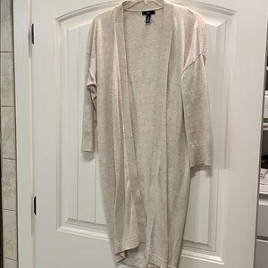 Gap long cardigan